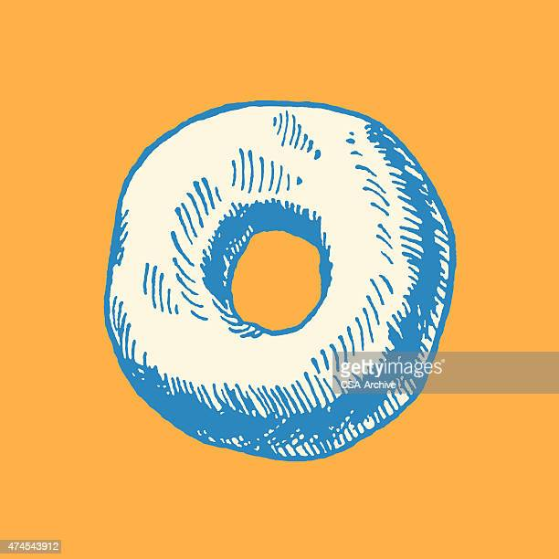 doughnut - donut stock illustrations, clip art, cartoons, & icons