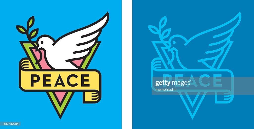 Dove of Peace Logo