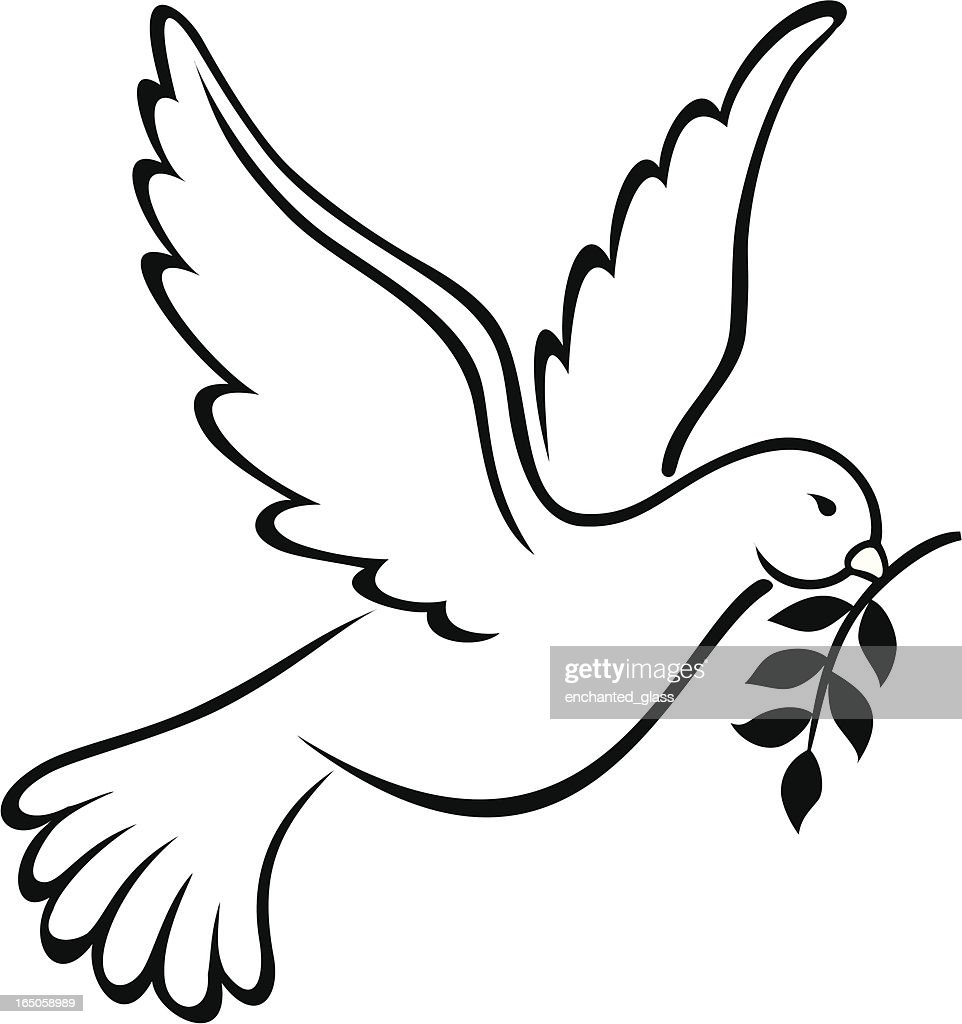 Dove symbol of peace on earth vector art getty images dove symbol of peace on earth vector art buycottarizona