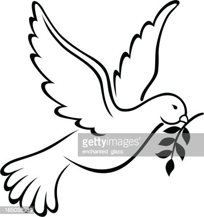 Dove Symbol Of Peace On Earth Vector Art Getty Images