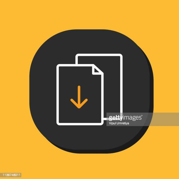 Download document icon.