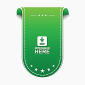 Download  Here Green  Vector Icon Design