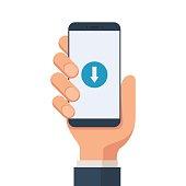 Download mobile symbol