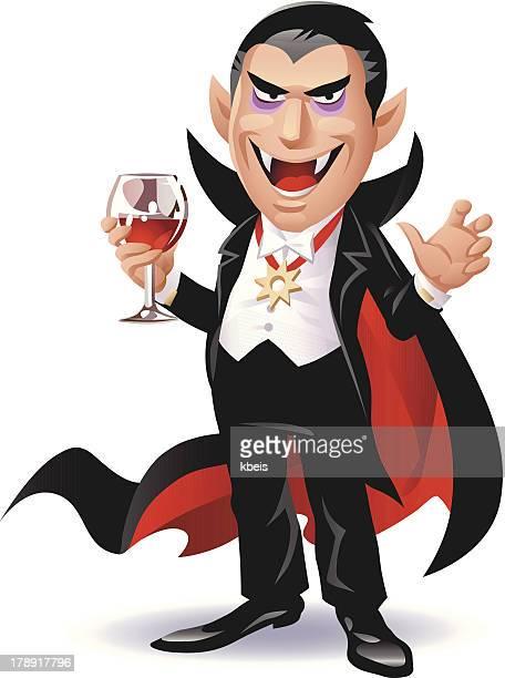 dracula - vampire stock illustrations, clip art, cartoons, & icons