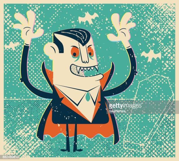 ilustraciones, imágenes clip art, dibujos animados e iconos de stock de dracula - vampiro