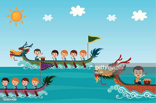 dragon boat festival - dragon boat 幅插畫檔、美工圖案、卡通及圖標