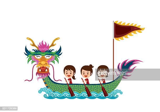 dragon boat race - dragon boat 幅插畫檔、美工圖案、卡通及圖標