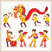 Dragon dance/Chinese new year festival