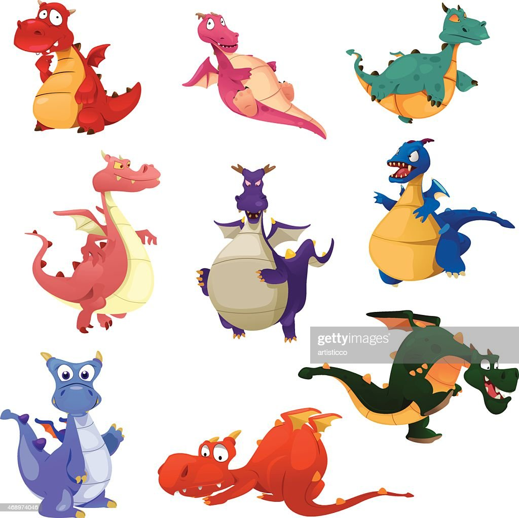 Dragon icons