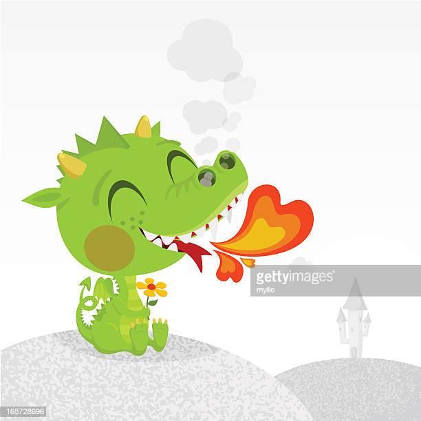 Dragon in love