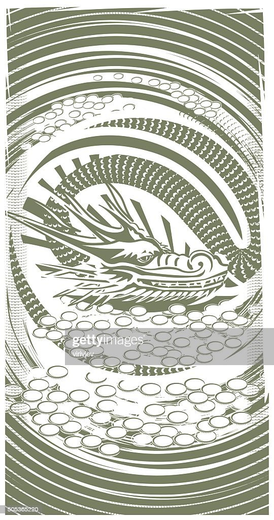 Dragon of money