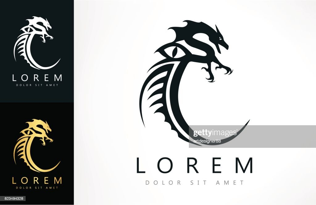 Dragon Symbol Vector Art Getty Images