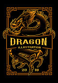 Dragon t-shirt design
