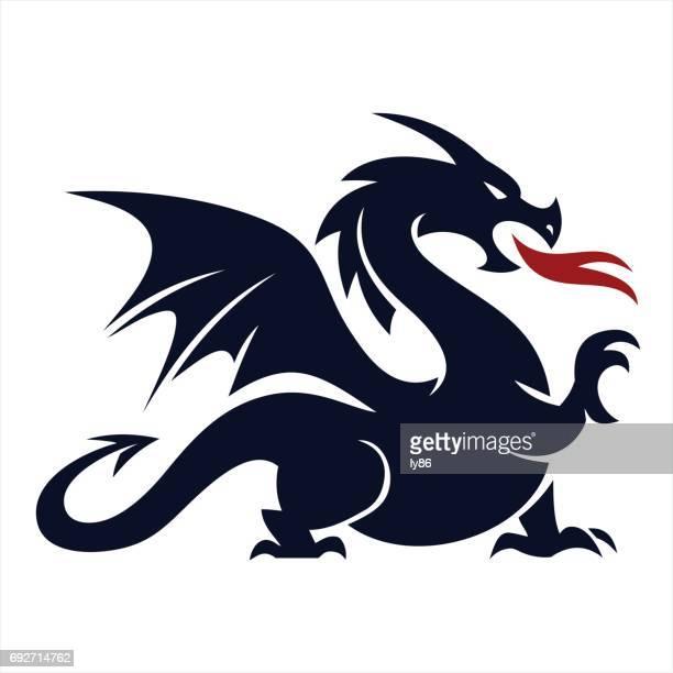 dragon - dragon stock illustrations