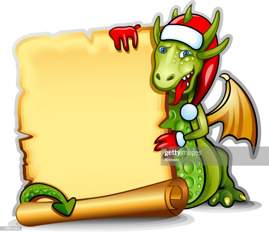 Dragon With Frame Vector Art   Getty Images