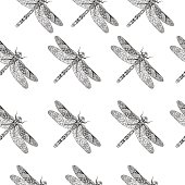 Dragonfly pattern