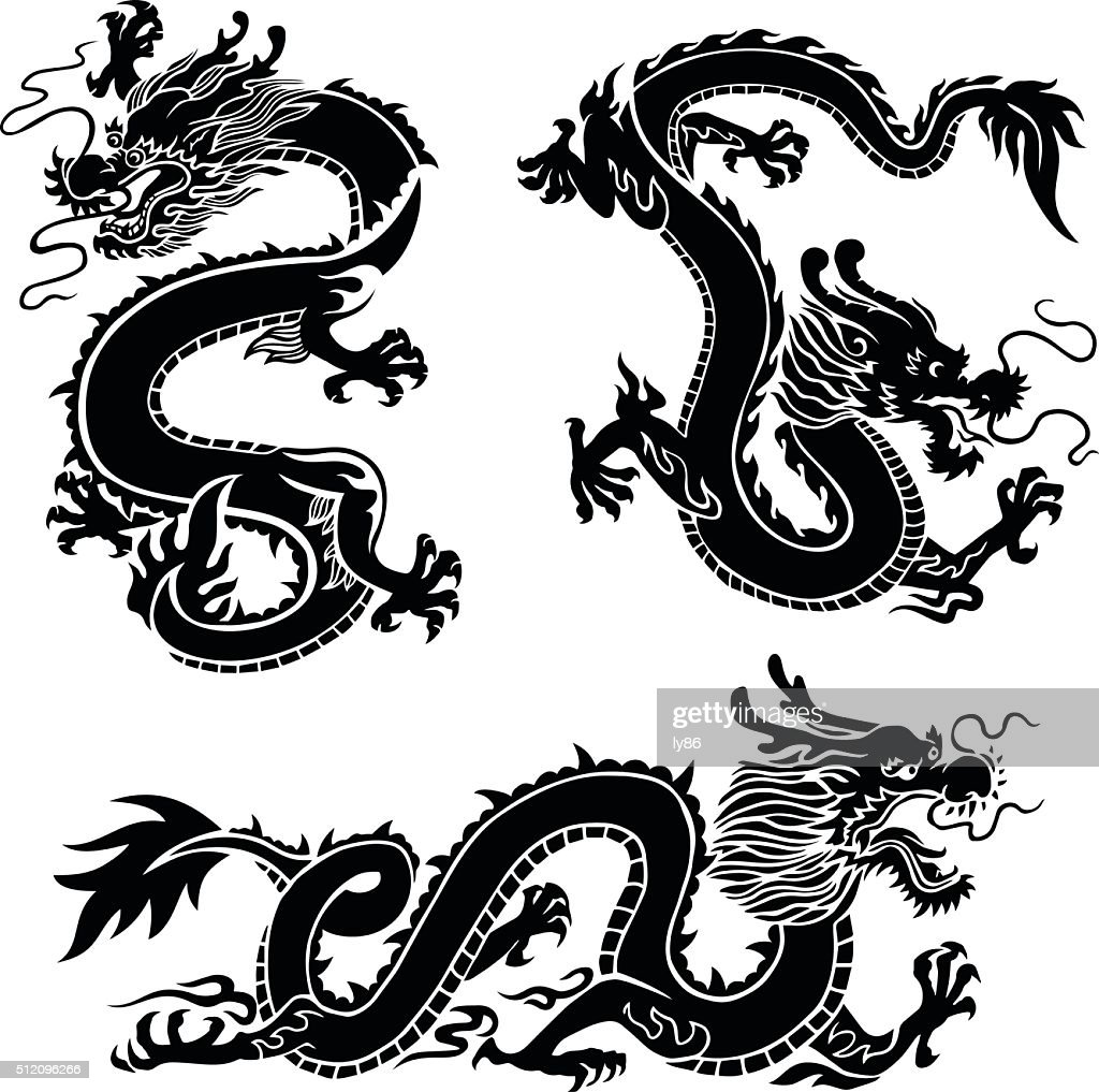 free download of dragon vector graphics and illustrations rh vector me vector dragon silhouette vector dragon silhouette