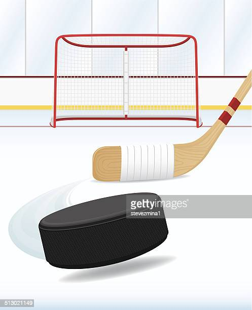 a drawing art of hockey and stuff - stick plant part stock illustrations