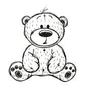 Drawing Teddy bear
