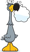 Dreaming Cartoon Dodo