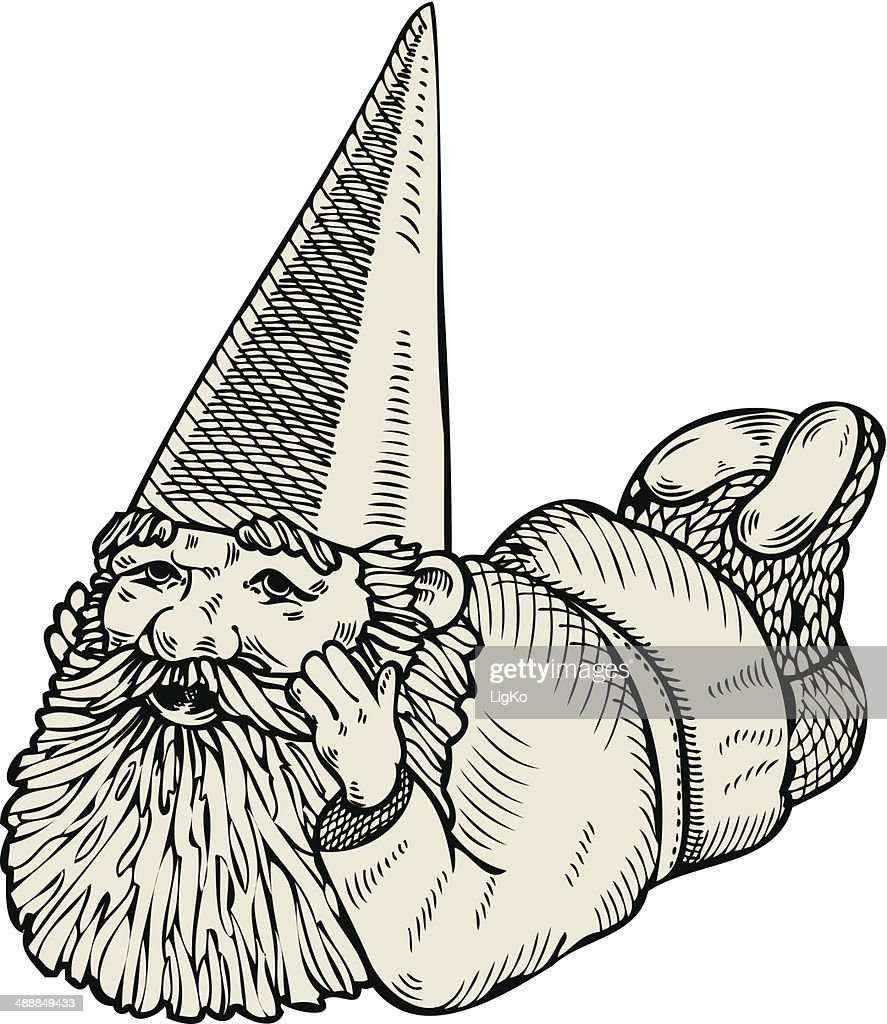Dreaming gnome.