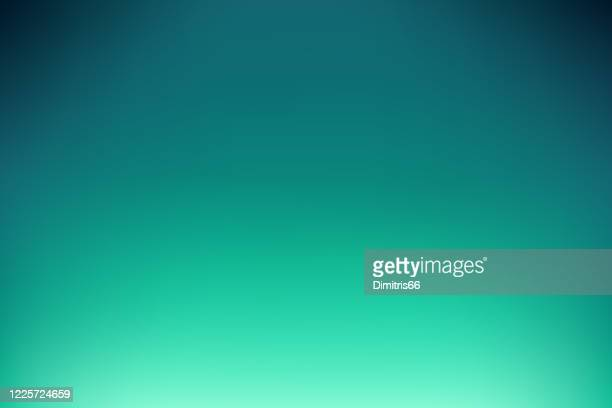 ilustrações de stock, clip art, desenhos animados e ícones de dreamy smooth abstract blue-green background - gradiente de cor