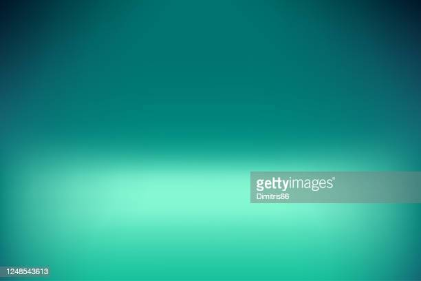 ilustrações, clipart, desenhos animados e ícones de dreamy smooth abstract blue-green background - esmeralda