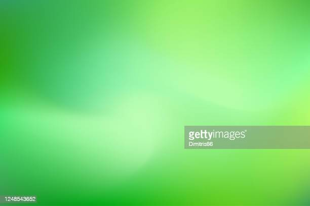 dreamy smooth abstract green background - saturated color stock illustrations