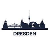Dresden City Skyline