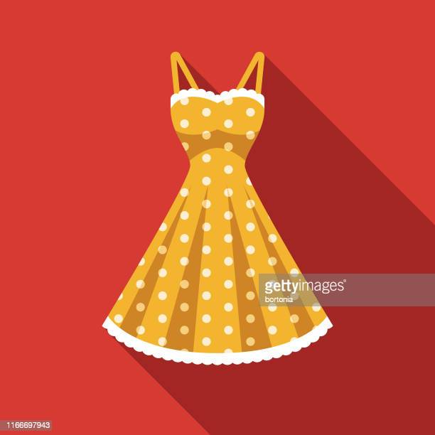 dress clothing & accessories icon - womenswear stock illustrations