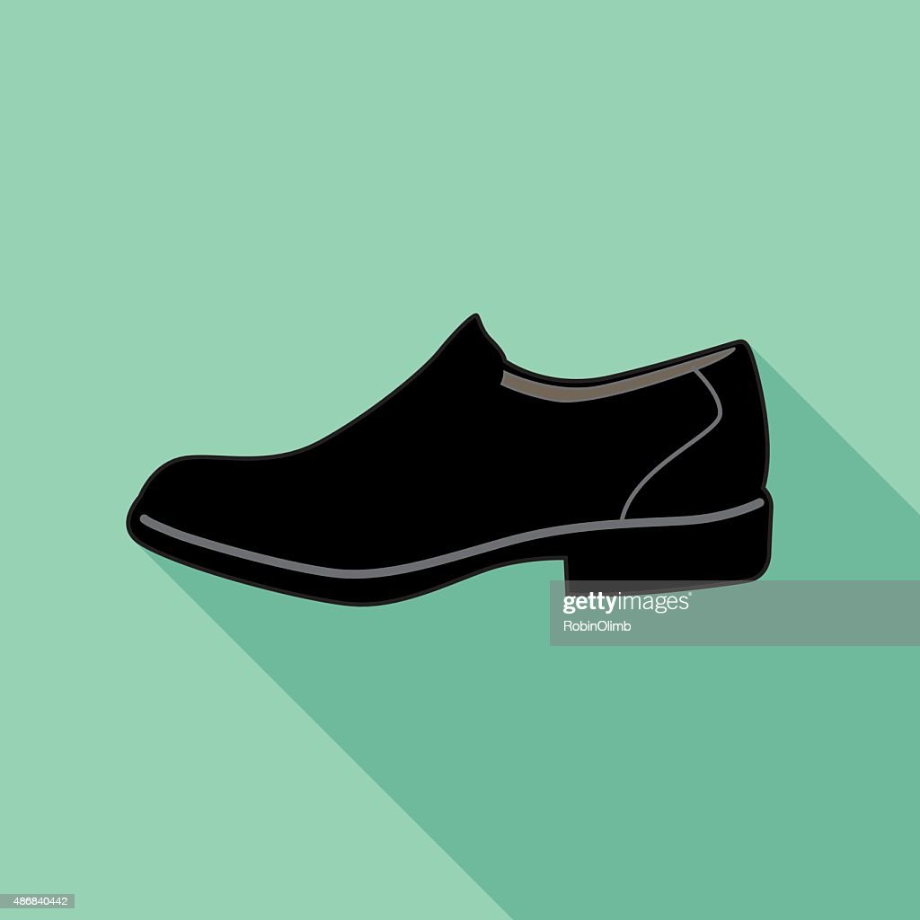 Dress Shoe Icon : stock illustration