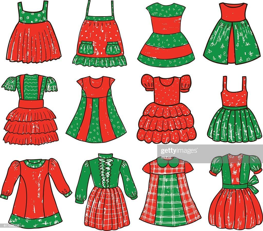 dresses collection for a little girl