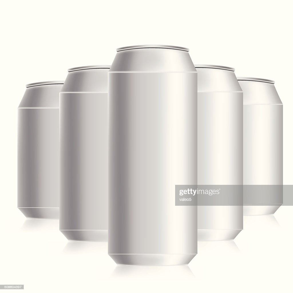 drink cans : Vector Art