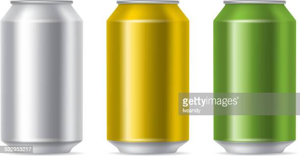 drink cans - can stock illustrations