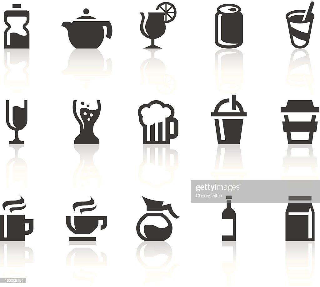Drink Icons   Simple Black Series