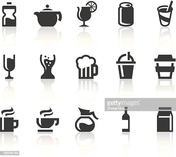 Drink Icons | Simple Black Series