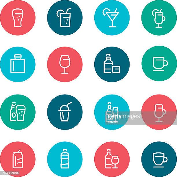 drink icons - tequila drink stock illustrations, clip art, cartoons, & icons
