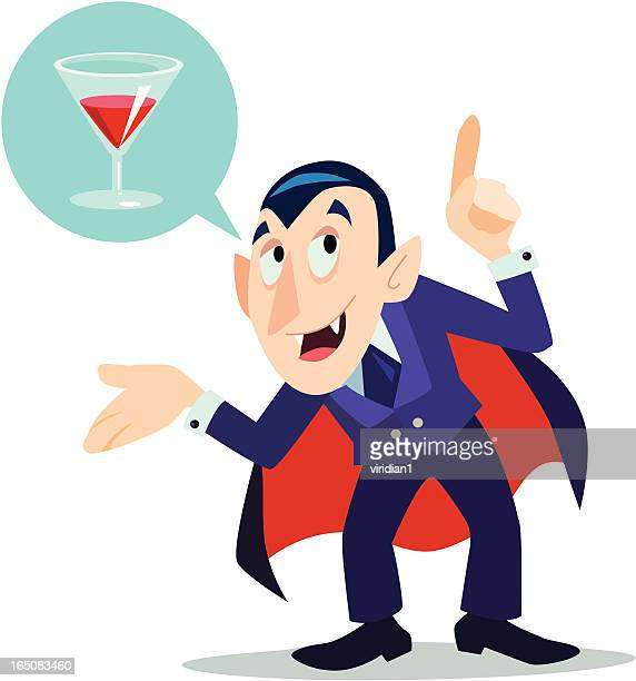 drink with drac - count dracula stock illustrations, clip art, cartoons, & icons