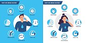 Drinking water benefits. Healthy human body hydration, man and woman drink water vector illustration set