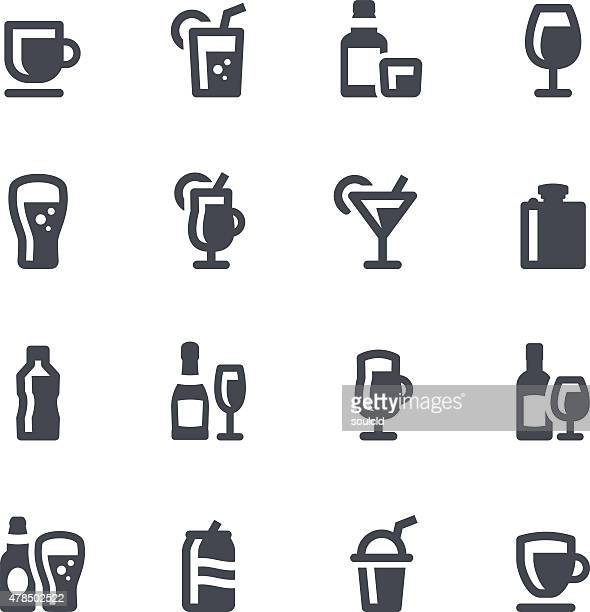 drinks icons - tequila drink stock illustrations, clip art, cartoons, & icons