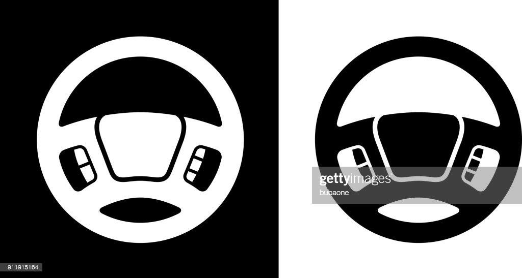 Lenkrad des Fahrers. : Stock-Illustration