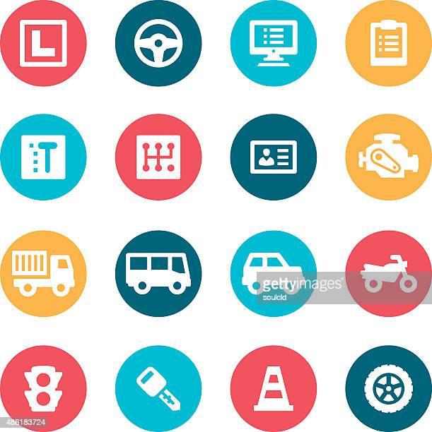 Iconos de conducción