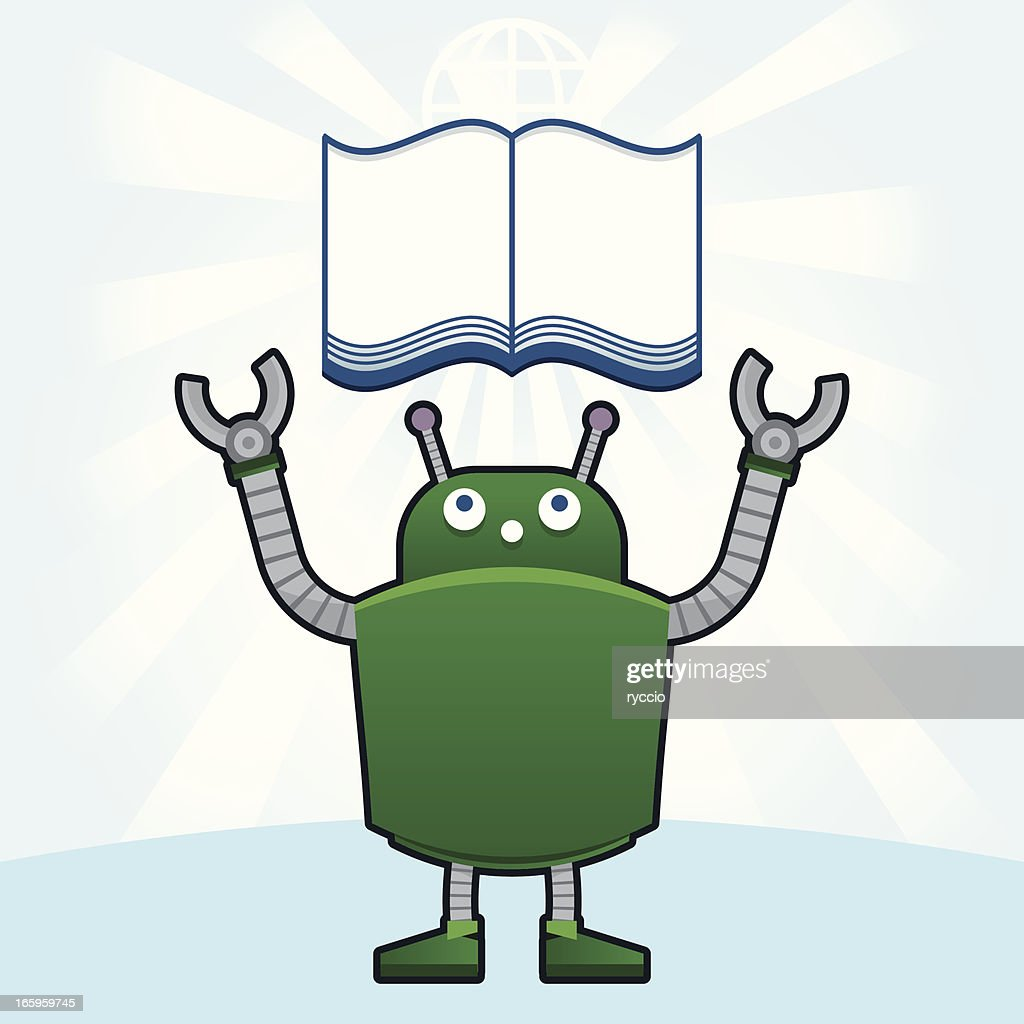 Droid and the book
