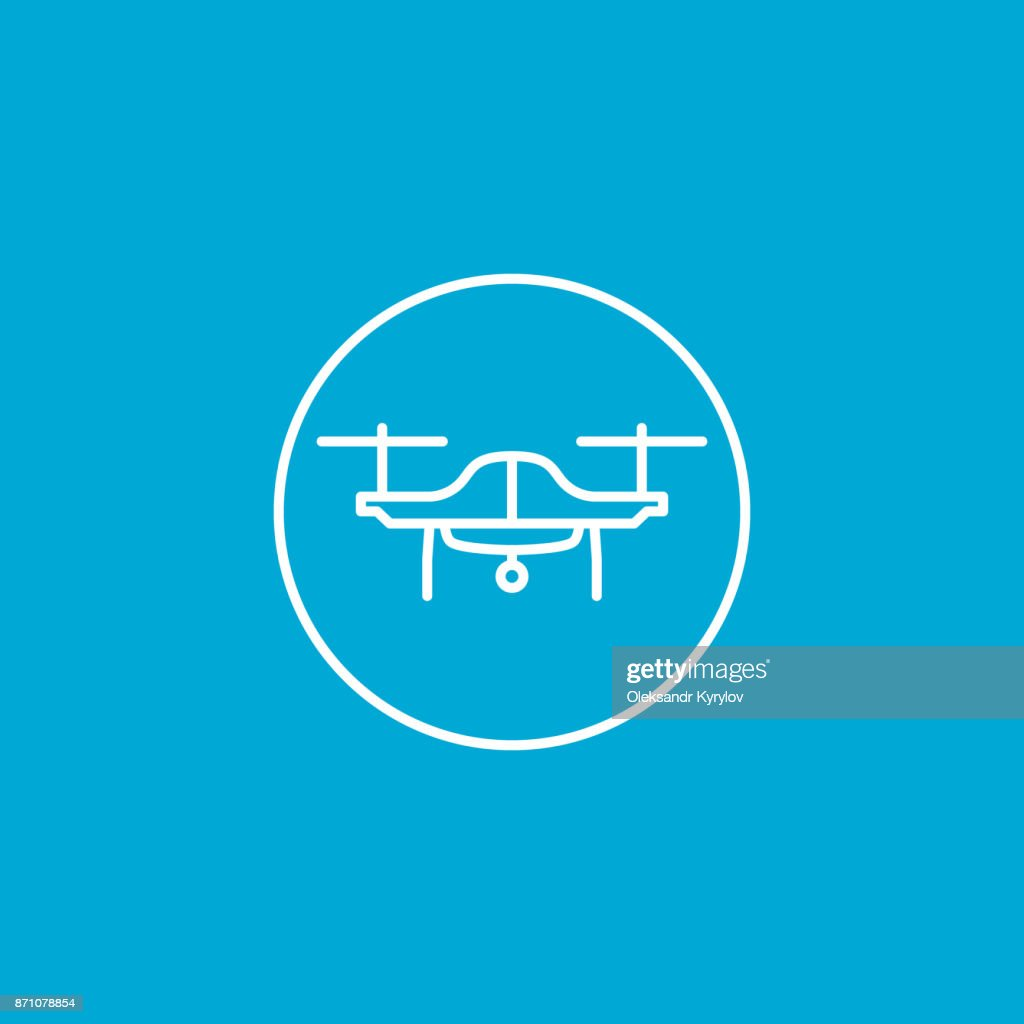 drone or quadcopter icon