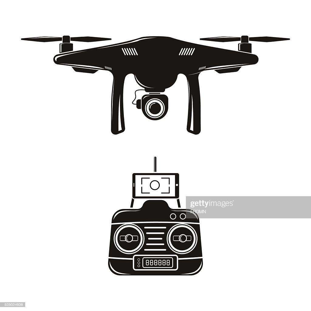drone vector illustration