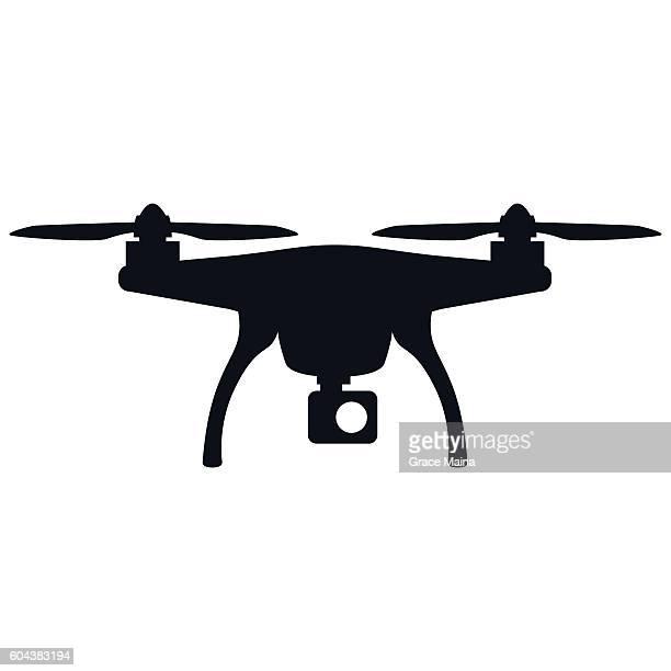 ilustraciones, imágenes clip art, dibujos animados e iconos de stock de drone - vector - drone