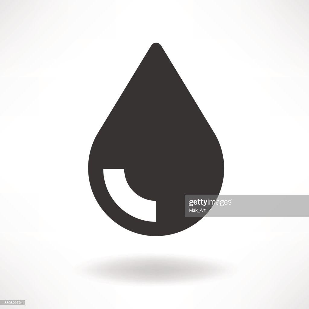 Drop Oil Simple Icon
