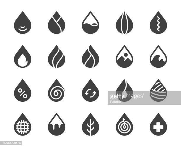 ilustrações, clipart, desenhos animados e ícones de soltar a forma - ícones - fire natural phenomenon