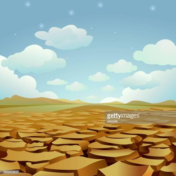 drought - waiting for rain - dehydration stock illustrations, clip art, cartoons, & icons