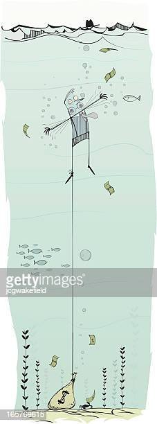 Drowning Banker